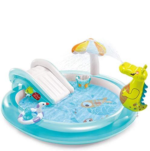 Kinder Aufblasbare Badewanne Krokodil Park Brunnen Baby Marine Ball Pool Kinder Tragbare Swimming Pool Leichte Reservoir