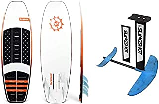 Slingshot Sports 2019 FWake WF-1 WF1 Board 19236024 COMBO with 2018 Slingshot Hoverglide F-Surf/Wake Foil package 18720000