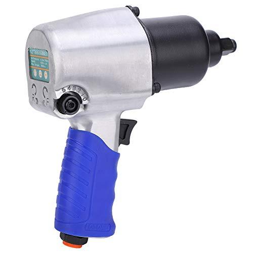 Llave neumática, 1/2 pulgadas, llave de impacto máxima 700 N-m, presión de trabajo 0,6-0,8 mpa para trabajos de mantenimiento general de coches, neumáticos y equipos pesados.