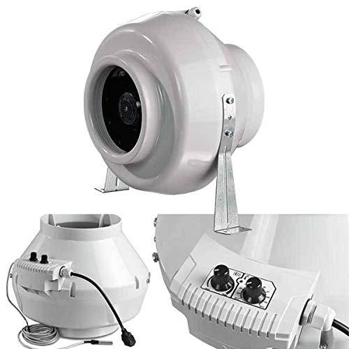 Blauberg Estrattore Max - 25cm - 1080m3/h+ termostato