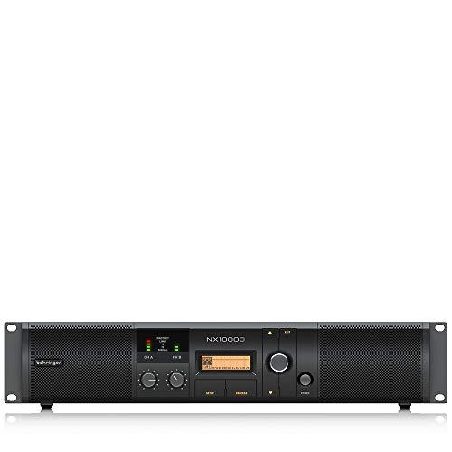 Behringer Power Amplifier (NX1000D)