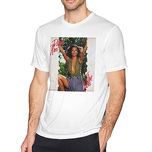 Diana Ross The Boss Shirt Print Shirts Short Sleeve for Men's Tees