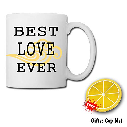 TK.DILIGARM Best Love Ever Coffee Mugs in Gift Box Pour The Cup That Will When it is Boiling Water. This is a Magic Cup.Birthday Present