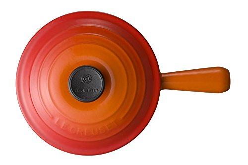 ル・クルーゼ(LeCreuset)鋳物ホーロー鍋ソースパン18cmオレンジガスIHオーブン対応【日本正規販売品】