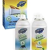 Kit PURIFICADOR para Aire Acondicionado 2 X 150 ml. Quita los Malos olores y los ácaros del Aire Acondicionado.
