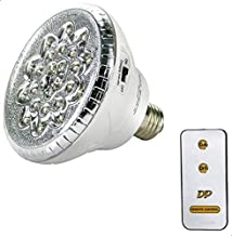 لمبات LED قابلة للشحن 24 لمبة مع ريموت كنترول