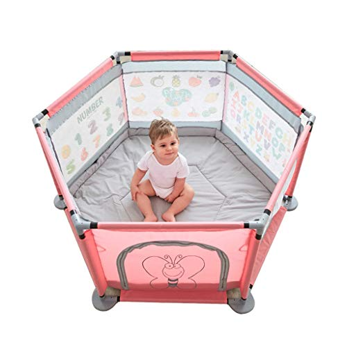 Buy Discount Children's play fence Baby Gyms & Playmats Indoor Crawling Mat Fence Home Amusement Par...