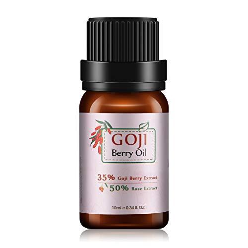 Aceite esencial de Goji 10ml de goji Facial facial antiarrugas para el cabello con crema endurecedora