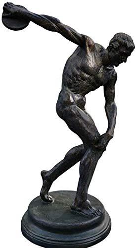 Skulptur,Athlet Statue Statue Sport Skulptur Diskuswerfer Artefakte Replik Griechische Kunst Statue Ornament Geschenk