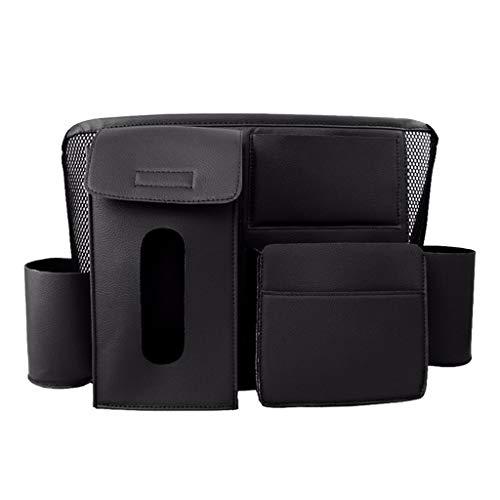 Sac de Rangement pour siège de Voiture Net Pocket Sac de Rangement pour Voiture Sac Suspendu Chaise multifonctionnelle Sac de Rangement arrière Fournitures de Voiture Facile à Prendre
