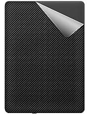 スキンシール Kindle Paperwhite (第11世代・2021年11月発売モデル) / シグニチャー エディション 【カーボン調・ブラック】