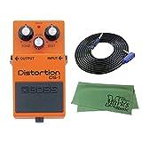 BOSS Distortion DS-1 + 3m ギターケーブル VOX VGS-30+クロス セット