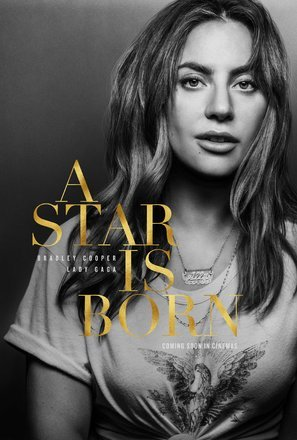 A Star is Born – Lady Gaga – U.S Movie Wall Poster Print - 30cm x 43cm / 12 inches x 17 inches