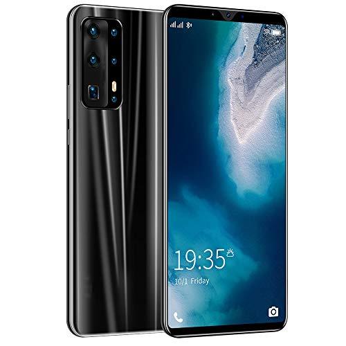 Teléfono Android Teléfono móvil 4G Teléfono inteligente 5.8 pulgadas Pantalla completa Teléfono inteligente Android 4800mAh Batería grande Carga rápida Cara Huella digital Desbloqueo doble