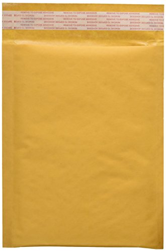 25 EcoSwift Size #0 7.5 x 10 Kraft Bubble Mailers Self Sealing Bulk Padded Shipping