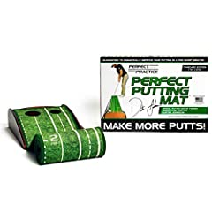 Perfect Practice Version 2.0 putting mats are an at-home or office solution to improving your golf game. A must have for the aspiring and professional Golf player. Work on your putt while at home or in the office. Perfect Practice putting mats have h...