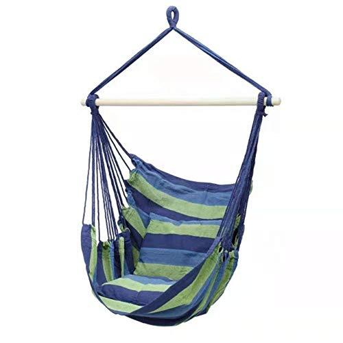 Hamaca portátil para camping, para mochileros, viajes, playa, patio, senderismo, etc.
