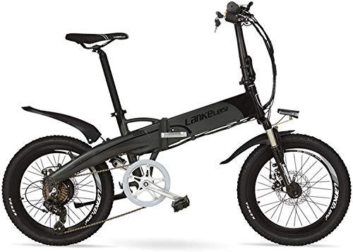 TYT Bicicleta de Montaña Eléctrica G660 Bicicleta de Montaña Plegable de 20...