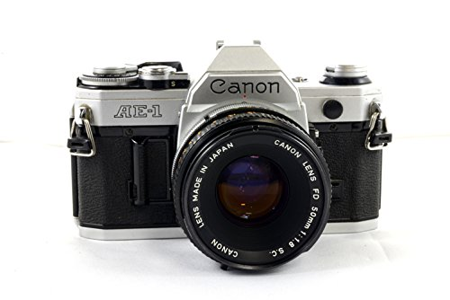 Canon AE-1 with 50MM 1.8 Canon FD Lens
