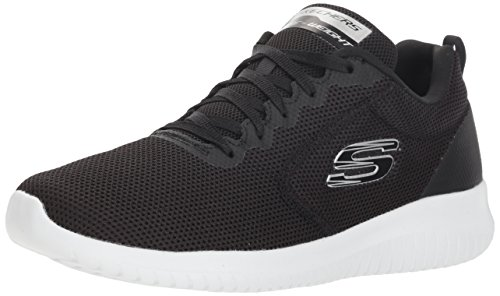 Skechers Women's ULTRA FLEX -FREE SPIRITS Trainers, Black (Black White Bkw), 5 (38 EU)
