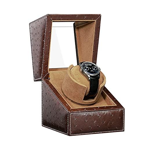 Dispositivo Mecedora Reloj Mecánico De Madera Maciza Dispositivo De Reloj Automático Reloj De Almacenamiento Caja De Almacenamiento Dispositivo De Bobinado Dispositivo De Giro Dispositivo De (Color:C)