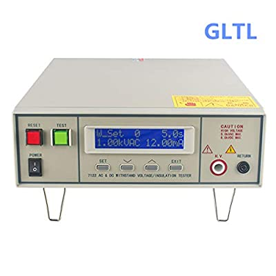 Withstand Hi-Pot AC/DC 0-5KV AC20mA DC10mA 100VA Insulation Resistance Tester (110-220V tunable Input Power)