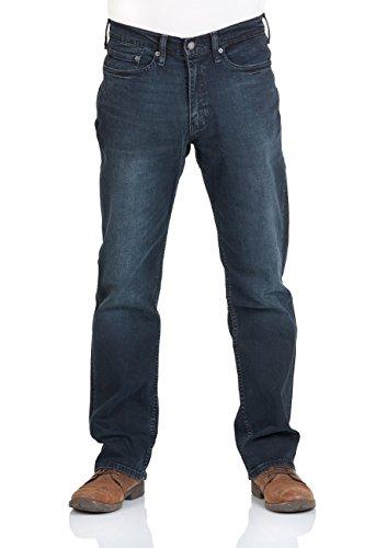 Levi's® Herren Jeans 514® - Straight Fit - Blau - Ship Yard, Größe:W 38 L 30;Farbe:Ship Yard (0809)