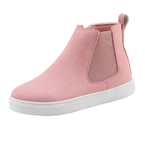 DREAM PAIRS Girls Pink High Top Sneakers Fashion Shoes Size 13 M US Little Kid HL19006K