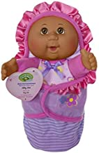Cabbage Patch Kids Official, Newborn Baby African American Girl Doll - Comes with Swaddle Blanket and Unique Adoption Birth Announcement