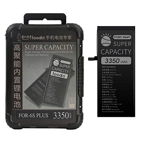 3350 mAh Replacement Battery Compatible for iPhone 6S Plus,Super Capacity Power UP Li-ion Battery with Repair Tool Kits Box[24 Months Warranty]