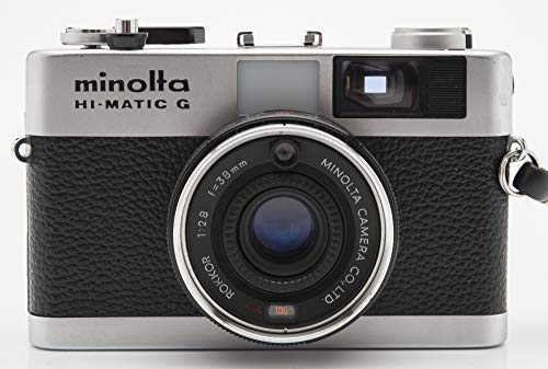 Minolta Hi-Matic G Kamera Sucherkamera Camera mit Rokkor 38mm 1:2.8 Optik