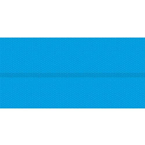TecTake 800711 Pool Solarabdeckplane, schnellere Wassererwärmung & geringere Wasserverdunstung, rechteckig, blau - Diverse Größen - (2,2x4,5 m | Nr. 403103)