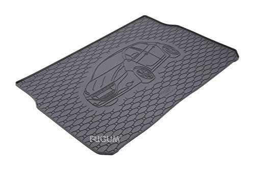 Antid/érapant Protection 100/% Caoutchouc Adapte pour: BMW G30 S/érie 5 Sedan 2017 moto-MOLTICO Tapis de Coffre Bac de Voiture