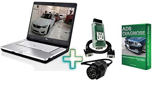 MyCor-Media Diagnose Laptop für BMW Mini E30 E31 E34 E36 E38 E39 E46 E53 E60 E65 E90 (ADS Diagnose)