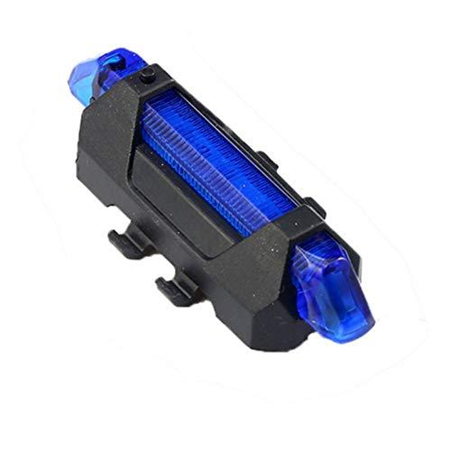USB Oplaadbare Led Bike Veiligheid Waarschuwing Licht Achterlicht Lamp Super Helder