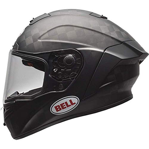 Motodak Helm Bell Pro Star Fim Fleece Matt Black Größe S