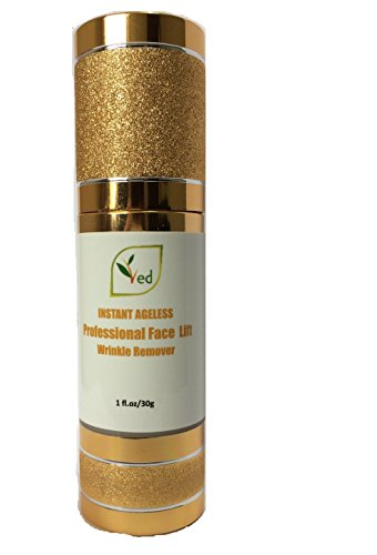 Ved Instant Ageless Crema Profesional | Mejora la tez | Lifting facial instantáneo | Último anhelo | 1 onza líquida / 30 g