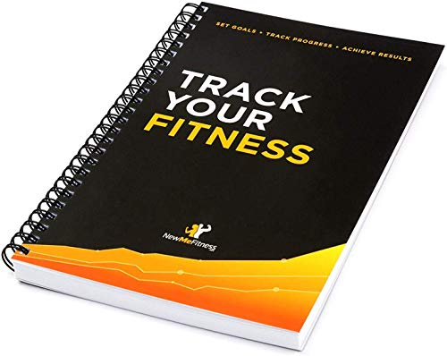 Workout Log Book & Fitness Journal - 25-Week Designed by Experts,...
