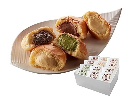 八天堂 プレミアムフローズンくりーむパン12個詰合せ | クリームパン 冷凍パン セット スイーツパン 人気 クリーム カスタード 菓子パン 広島 母の日 ギフト