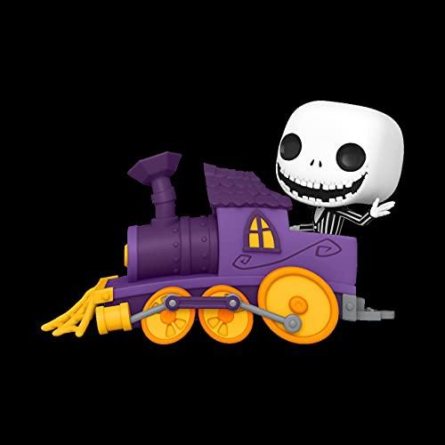 Funko- Pop Disney: Nightmare Before Christmas Jack in Train Engine Figura Coleccionable, Multicolor (50630)