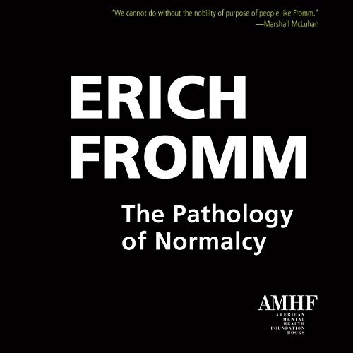 The Pathology of Normalcy audiobook cover art