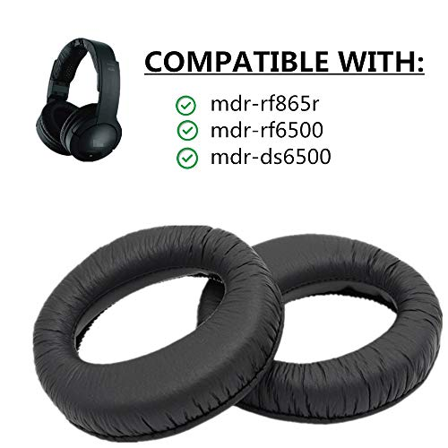 1Paar Ersatz-Ohrpolster für mdr-rf865r mdr-rf865rk Kopfhörer
