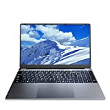 Ordenador portátil KUU A10, 15.6 Pulgadas FHD 1920 * 1080P Pantalla IPS Ordenador portátil Intel Celeron J4125 hasta 2.7GHz Windows 10 Netbooks 8GB RAM 256GB SSD tamaño Completo ultradelgado Teclado