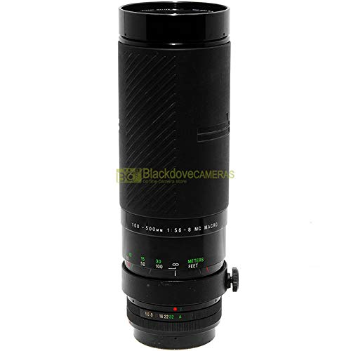 Vivitar Series 1 100/500mm f5,6-8 Makro-Objektiv für Canon FD-FL Kameras
