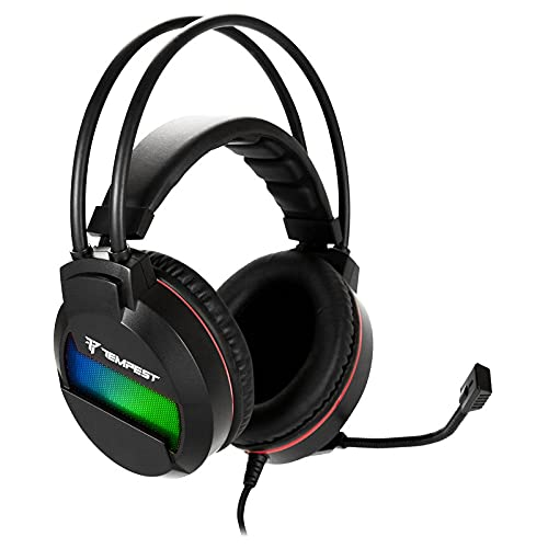 Auriculares Tempest GHS101 RGB Auriculares Gaming PC/PS4/Xbox One