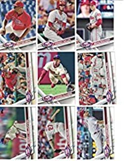 2019, 2018, 2017, 2016, 2015, 2014, 2013 Topps Baseball Card Phillies Team Set Gift Lot (Complete Series 1 & 2 From All 7 Years) 150+ cards inc Aaron Nola RC, Rhys Hoskins RC, Bryce Harper in 7 acrylic cases + BONUS MIKE SCHMIDT CARD