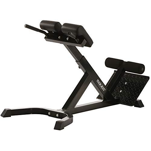 MAXXUS Hyperextension Rückentrainer - Rückenstrecker für ein gesundes Training und einen starken Rücken