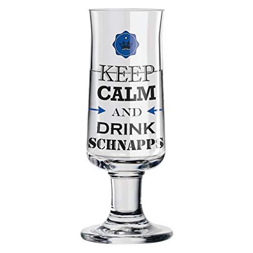 RITZENHOFF Schnapps Schnapsglas von Gabriel Weirich, aus Kristallglas, 40 ml, mit fünf Schnapsdeckeln
