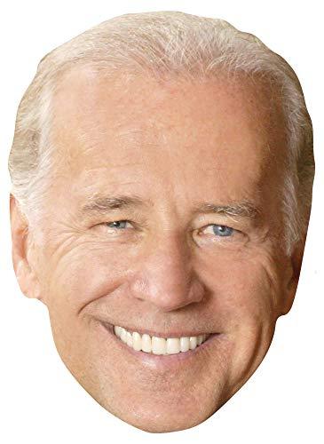 Star Cutouts Ltd SM356 Joe Biden Gesichtsmaske aus Karton, Spaß für Partys, Fans und Veranstaltungen, Sprechpunkt, mehrfarbig