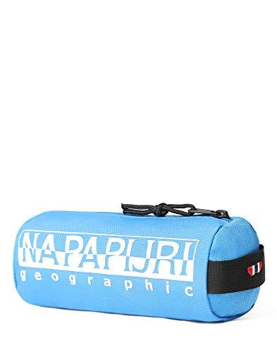 Napapijri Happy Pencil Case 1 Astuccio, 0 cm, Blu francese (Blu) - N0YI0I